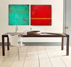 Painting Original Abstract Painting Acrylic by MilaSchoeneberg, $379.00