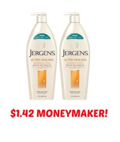 $1.42 Moneymaker On Jergens Moisturizer With New Coupon Available To Print!