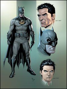 De Jovem Bruce Wayne a Cavaleiro das Trevas.