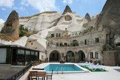 Sim, é real. E barato! Hotel na #Capadocia, #Turquia
