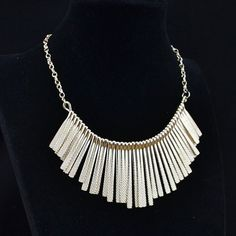 2013 Fashion Jewelry Vintage Look Antique Silver Gold PLD Exotic Tassel Necklace | eBay