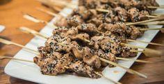 Haiku | Brochette de poulet orientale
