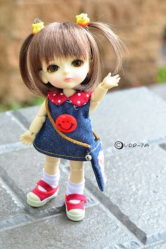 Miel-Basic ver. | vod-za | Flickr Cute Cartoon Pictures, Cute Cartoon Girl, Cartoon Pics, Beautiful Barbie Dolls, Pretty Dolls, Cute Girl Hd Wallpaper, Cute Miss You, Cute Kids Photography, Lovely Girl Image