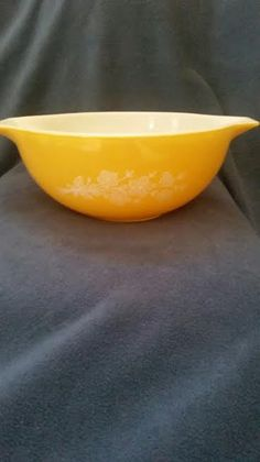 PYREX #443 Butterfly Gold 1979 Redesign 2.5 #5 Mixing Bowl #Pyrex