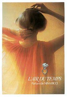 L'Air du Temps. Parfum de Nina Ricci - Publicité de 1975