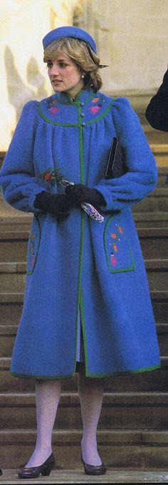 Princess Diana Christmas Day 1981