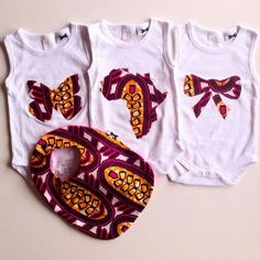 . Baby African Clothes, African Dresses For Kids, African Babies, African Children, African Wear, Family Outfits, Kids Outfits, Baby Afro, African Shirts