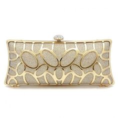 Yoins Diamante Clutch Bag in Gold Sequin (435 ZAR) ❤ liked on Polyvore featuring bags, handbags, clutches, bolsas, purses, gold, white hand bags, gold clutches, man bag and white handbags