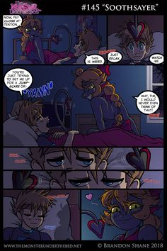Shadow uses an ancient Noxian tactic to lull an unsuspecting victim to sleep. Dark Comics, Short Comics, Demons 2, Monster Under The Bed, Warcraft Art, Romance Art, Alien Art, Cute Comics, Monster Girl