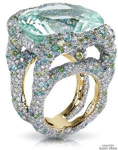 Katharina Mint Ring by Faberge/ DIAMONDS::ARE::FOREVER!::