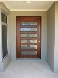 timber lifts rendered entrance