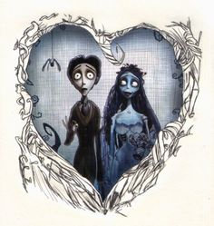 there's something about tim burton that just gets under my skin. like i'd miss it if it wasn't there... i love the corpse bride!
