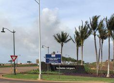 Kahului Airport Access Road at Hana Highway