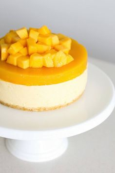 Mango Cheesecakes