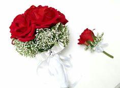 Gelin Buketi & Damat Yaka Çiçeği