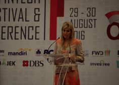 Her Majesty Queen Máxima of the Netherlands has been in Jakarta, Indonesia, to speak on financial inclusion at the Indonesia Fintech Festival and Conference. She is in the country as part of her ro…