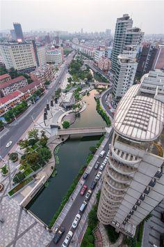 Galería de Reconstrucción del Río de la Ciudad de Zhangjiagang / Botao Landscape…
