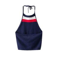 2016 Summer Sexy Women Summer Crochet Bustier Crop Tops  Fitness Knitted Tank Shirt Bikini Camis