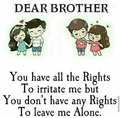 Miss You Brother Quotes, Brother Sister Relationship Quotes, Missing You Brother, Brother And Sister Love, Bro Quotes, Sister Quotes Funny, Funny Quotes, Promise Quotes, Best Friends Brother