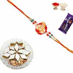 Buy #Rakhi with #Sweets Dry Fruit Sandwich Katli with #Rakhi and Shagun @ http://www.rakhistoreonline.com/rakhi-with-sweets/dry-fruit-sandwich-katli-with-rakhi-and-shagun-622.html