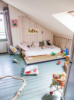 Wooden Floors in de Kid's room