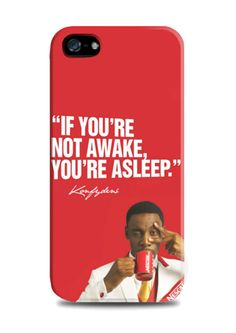 """Nescafe iPhone Case by Ya - E - Lah for Tees. """"if you're not awake, you're asleep"""" print on the case, with right color this iPhone 5/5s case look so fun. Also available for iPhone 4/4s, 5/5s, 5c, and also for samsung galaxy note 2, 3 and samsung galaxy s3, s4. http://www.zocko.com/z/JFSgp"""
