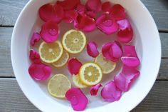 Lemon Rose Footbath ~ The Dabblist