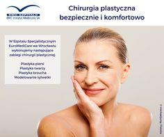 Czy wiecie, że w naszym Szpitalu Specjalistycznym EuroMediCare we Wrocławiu, wykonujemy zabiegi chirurgii plastycznej? Sprawdźcie szczegóły: http://bit.ly/1P5H8eA #emc #emcszpitale #chirurgiaplastyczna #zabieg