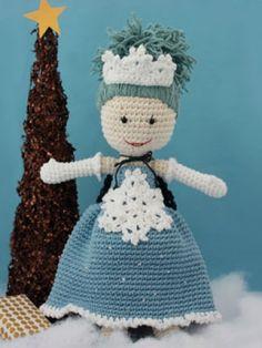 * Winter Princess Lily Doll | Yarn | Free Knitting Patterns | Crochet Patterns | Yarnspirations