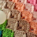 Step by step photo and written instructions for how to crochet the box stitch. Downloadable diagram to keep.