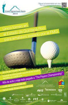 ¡Participa en la Copa Quintana Roo, el único torneo en el estado de Quintana Roo avalado por la Federación Mexicana de Golf!  ¡Inscríbete a más tardar el viernes 10 de octubre y participa en la rifa de un automóvil! #GolfTulum #Golf #RivieraMaya  +info: http://on.fb.me/10RCI4j