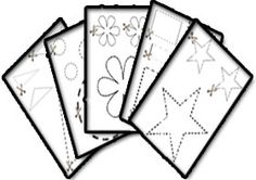 Scissor skills printables - simple line pages, shape pages, animal pages