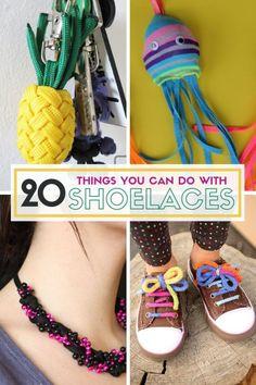 20x Metal DIY Shoelaces Repair Shoe Lace Tips Replacement End Shoelaces Craft Kq