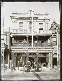 *🇦🇺 Centennial Hotel (Scott St, Newcastle, NSW, Australia, from Culture Collections 🎞 Newcastle Town, Hunter Street, Terra Australis, Melbourne Victoria, Australia Day, Hotel Stay, Historical Pictures, Old West, East Coast