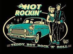 teddy boy rock and roll