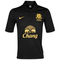 As much as I hate our pesky little neighbours from across the park, Everton's away shirt for next season is not bad looking, I have to admit.