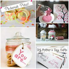 CiCi Bean: Pinterest Picks: DIY Mother's Day Gifts