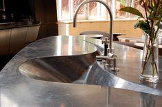 Artistic, Sink Concrete Countertops Stone Soup Concrete Easthampton, MA