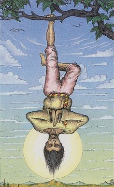 XII. The Hanged Man: Cosmic Tarot