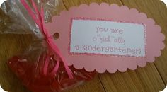 I'm so making these for Ozzie for his first day of homeschool Kindergarten in the fall:)