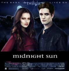 Great Twilight movie poster with Edward and Bella!