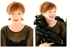 The Best Short Haircuts for Women Over 50: Frances Fisher