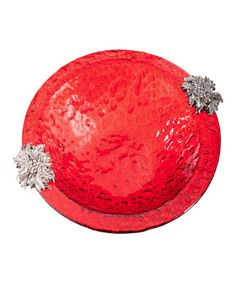 Look what I found on #zulily! Poinsettia Serving Bowl #zulilyfinds