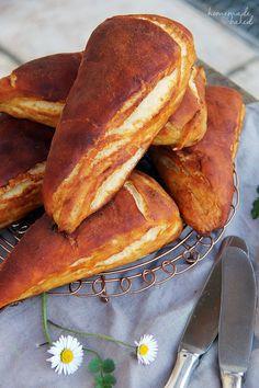 Rezept für Laugenecken | Bread Recipe | Brot Rezept |