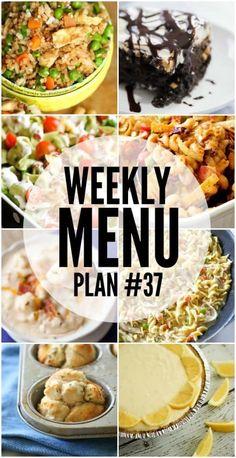 Weekly Menu Plan 37(1)