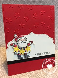 Stamp · Pray · Love: Get Your Santa On #2014HolidayCatalog