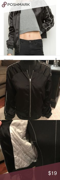 Brandy Melville bomber jacket Brandy Melville bomber jacket in good condition no rips stains or tears Brandy Melville Jackets & Coats