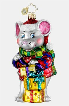 Christopher Radko 'Season's Eatings' Ornament available at #Nordstrom