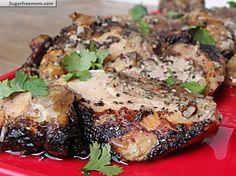 crock pot balsamic chicken thighs