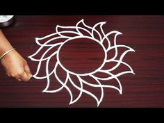 simple rangoli designs without dots * freehand kolam designs for beginnes * aadi friday muggulu Easy Rangoli Designs Videos, Rangoli Designs Latest, Simple Rangoli Designs Images, Rangoli Designs Flower, Rangoli Border Designs, Rangoli Designs Diwali, Rangoli Designs With Dots, Rangoli With Dots, Beautiful Rangoli Designs